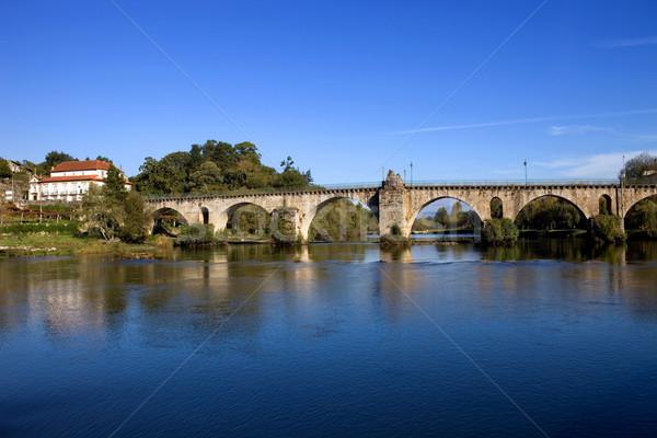 Ponte da Barca Stock photo © zittto