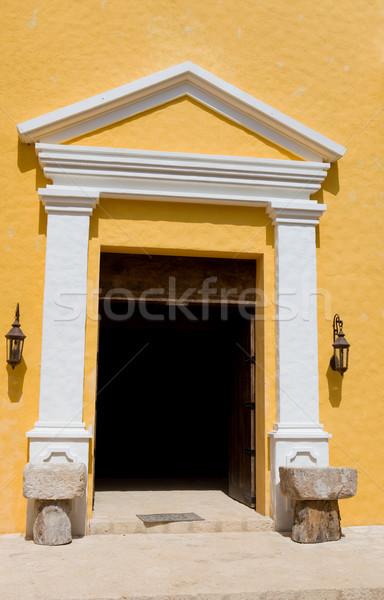 church door Stock photo © zittto