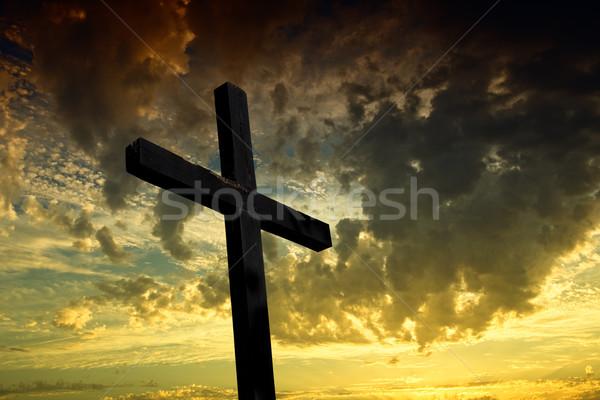cross Stock photo © zittto