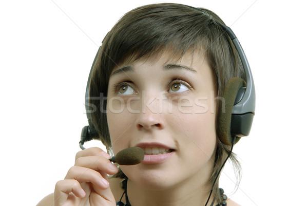 calling Stock photo © zittto