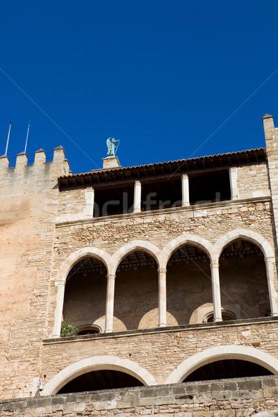 Mallorca cathedral Stock photo © zittto
