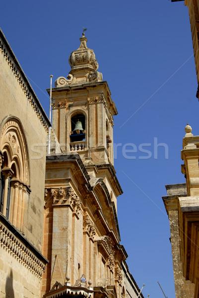 Kilise eski Malta katedral detay Stok fotoğraf © zittto