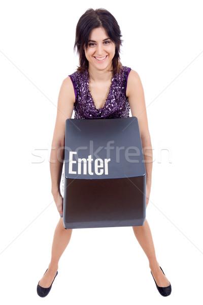 enter key Stock photo © zittto