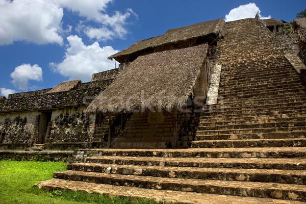 Eski şehir seyahat taş ibadet mimari Stok fotoğraf © zittto