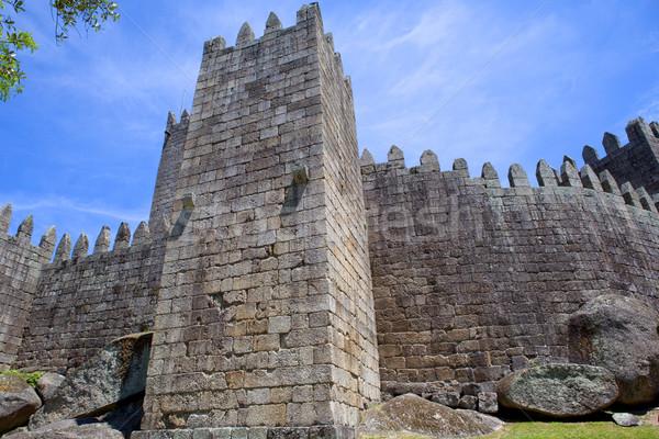 Guimaraes castle Stock photo © zittto