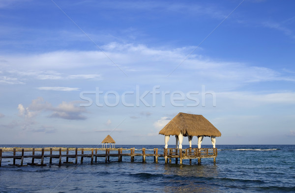 caribbean sea Stock photo © zittto
