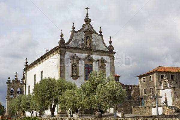 Chapelle ville jesus église bible architecture Photo stock © zittto