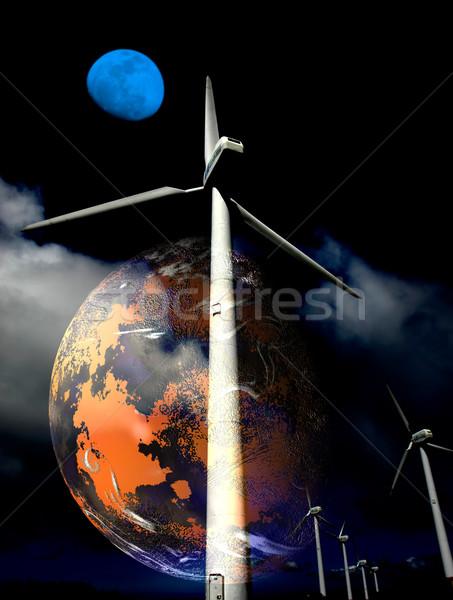 planet Stock photo © zittto