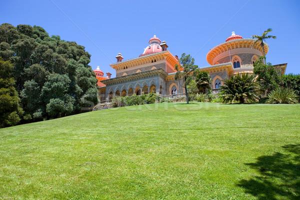 Palace of Monserrate Stock photo © zittto
