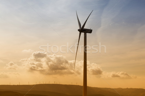wind turbine Stock photo © zittto