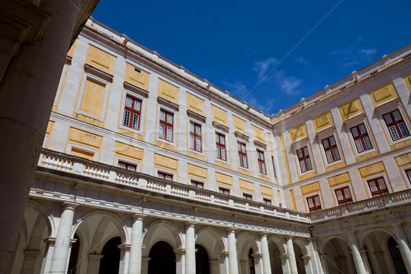Paleis kathedraal stad landschap architectuur witte Stockfoto © zittto