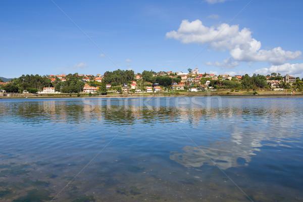 Galicië Spanje landschap oceaan reizen Europa Stockfoto © zittto
