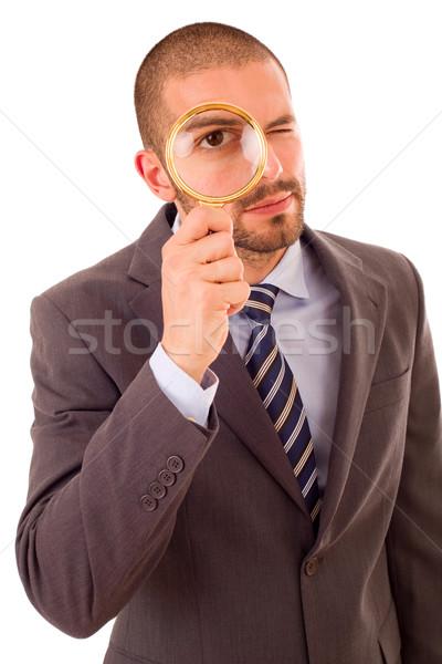 magnifying glass Stock photo © zittto