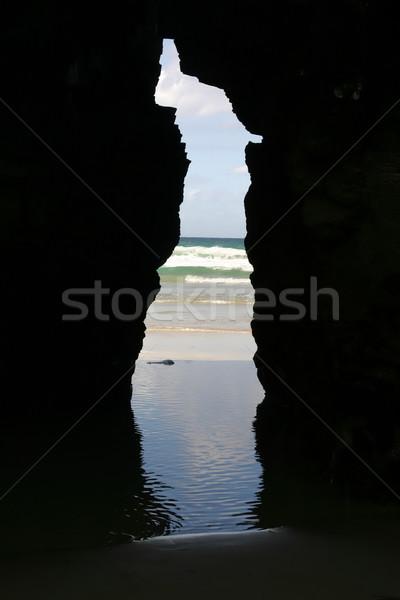 cave Stock photo © zittto