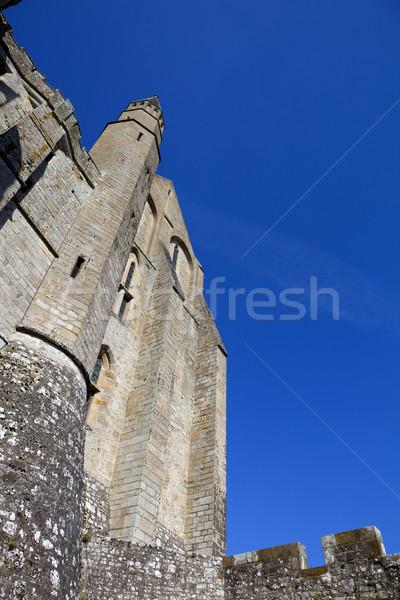 saint michel monastery Stock photo © zittto