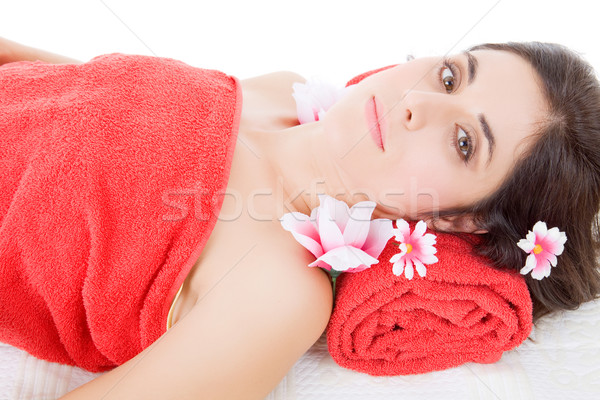 温泉療法 美しい 若い女性 美 スパ 女性 ストックフォト © zittto