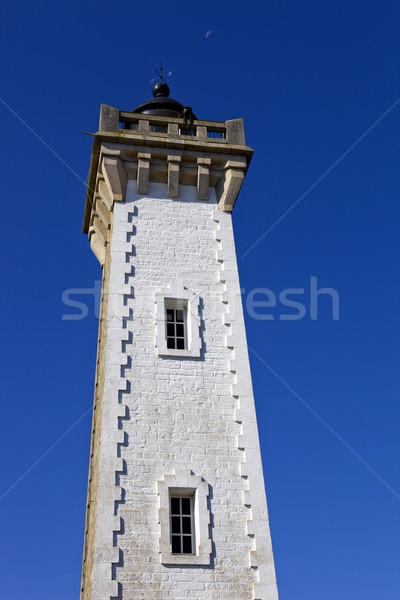 Roscoff Lighthouse Stock photo © zittto