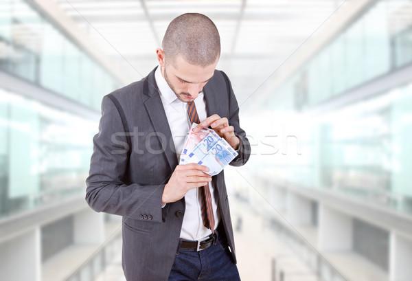 money man Stock photo © zittto