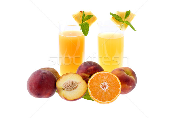 orange juice Stock photo © zittto