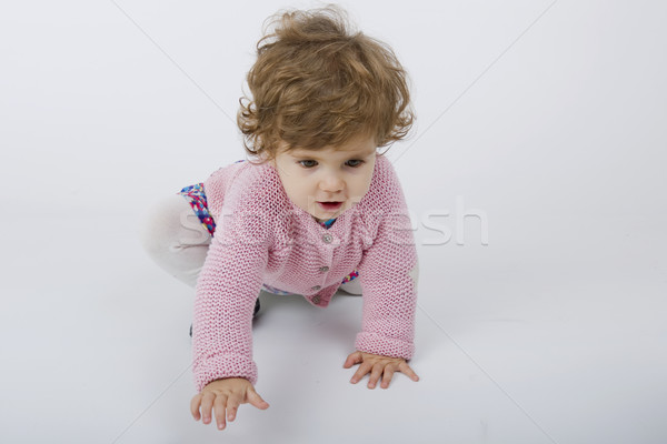 young baby portrait Stock photo © zittto