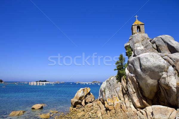 Port-Blanc Stock photo © zittto