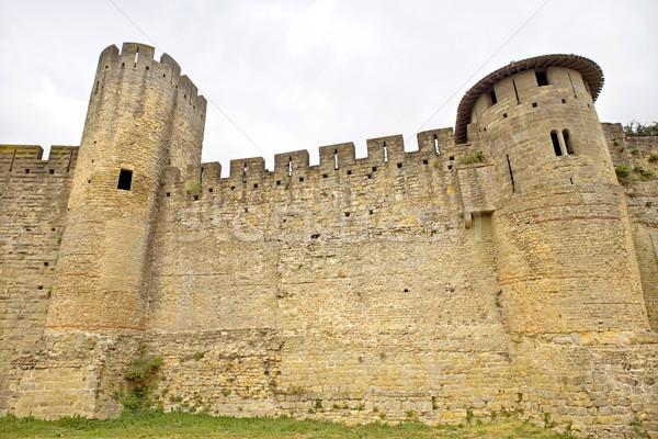 古代 要塞 フランス 建物 セキュリティ ストックフォト © zittto
