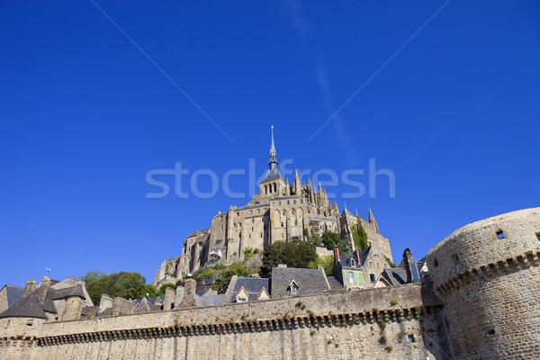 Ver norte França cidade mar Foto stock © zittto