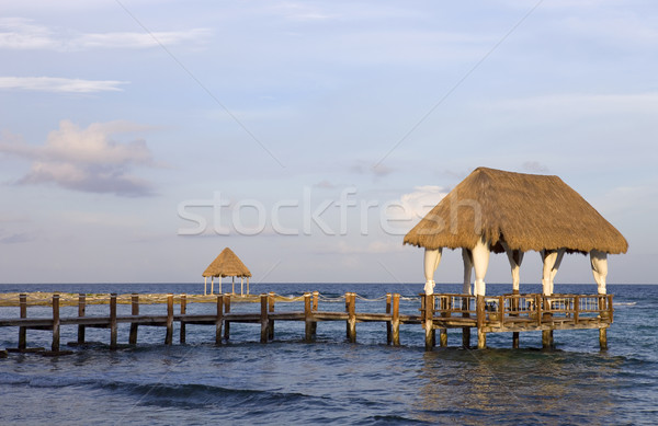 wooden house Stock photo © zittto