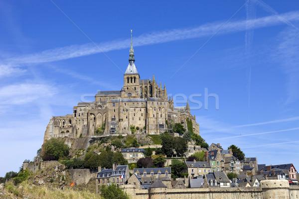 mont saint michel Stock photo © zittto