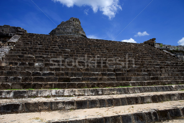 Chichén Itzá antigua templo edificio viaje culto Foto stock © zittto