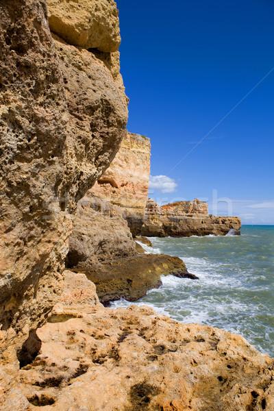 coast of algarve Stock photo © zittto