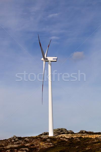 wind turbine Stock photo © zittto