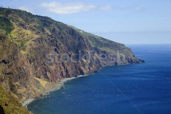 Madeira sahil ada Portekiz su Stok fotoğraf © zittto