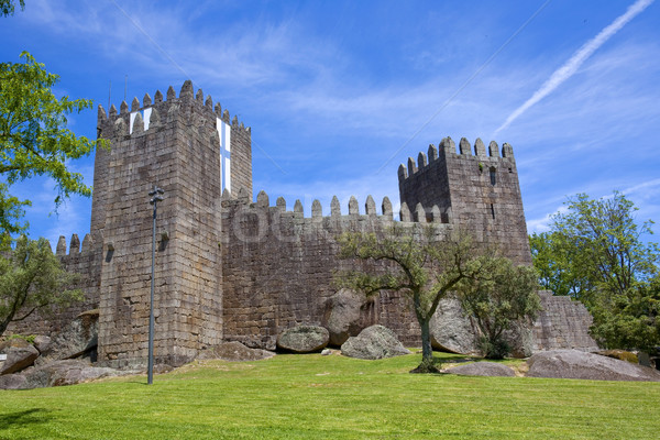 Guimaraes castle Stock photo © zittto