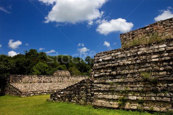 древних город здании поклонения лестницы индийской Сток-фото © zittto