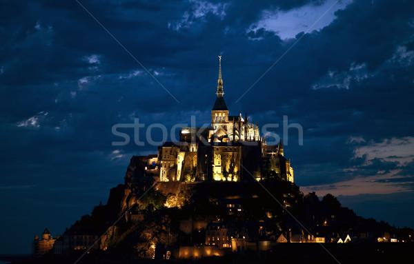 mount saint michel Stock photo © zittto