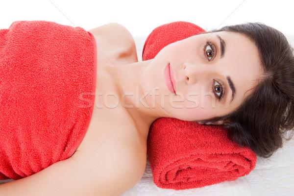 spa treatment Stock photo © zittto
