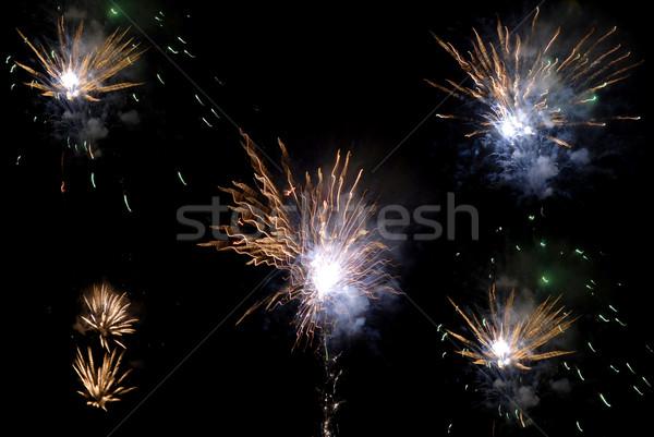 fireworks Stock photo © zittto