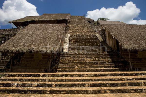 ősi város utazás kő istentisztelet építészet Stock fotó © zittto