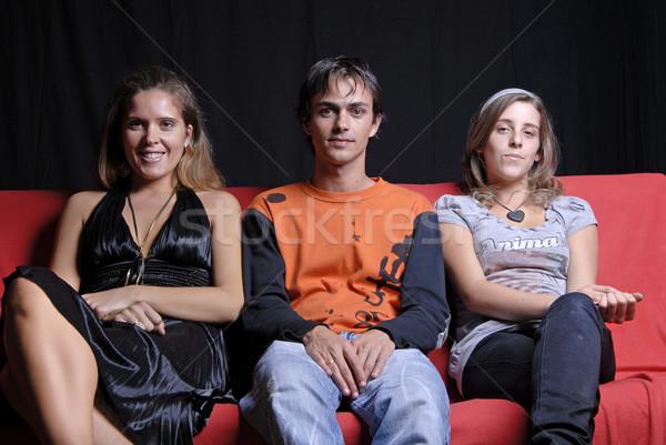 sofa Stock photo © zittto