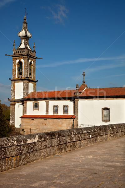 Santo Antonio Church Stock photo © zittto