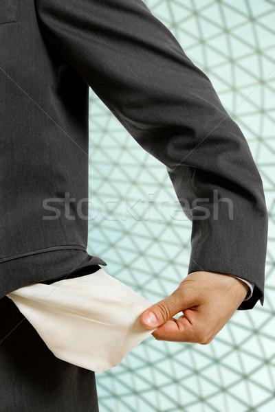 empty pocket Stock photo © zittto