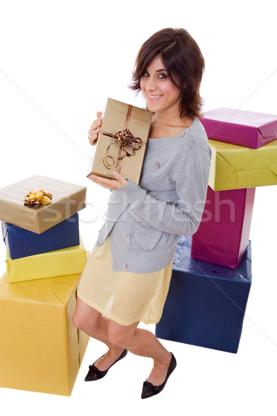 shopaholic Stock photo © zittto