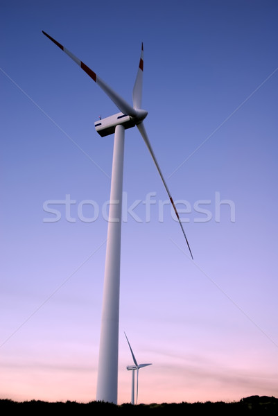 wind farm Stock photo © zittto