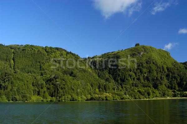 furnas lake Stock photo © zittto