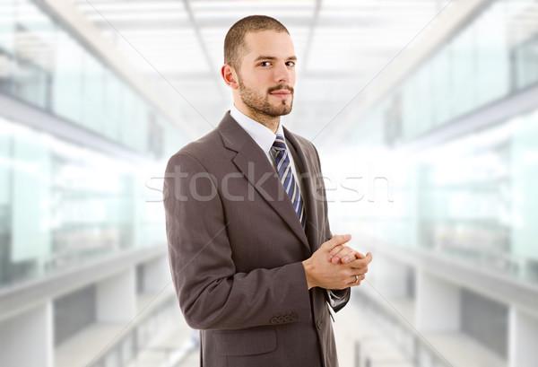 Homme d'affaires jeunes portrait bureau visage homme Photo stock © zittto