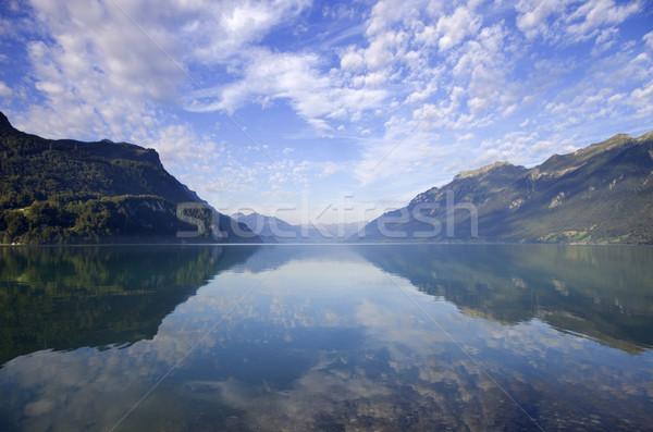 swiss lake Stock photo © zittto