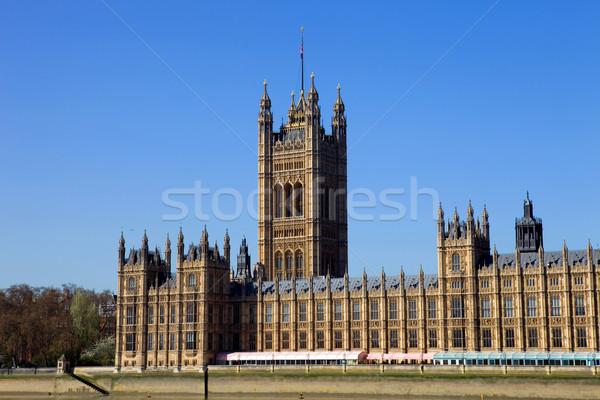 Parlamento Londra hükümet evler westminster Bina Stok fotoğraf © zittto