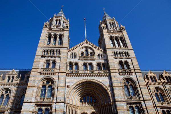 Múzeum természetes történelem London Anglia épület Stock fotó © zittto