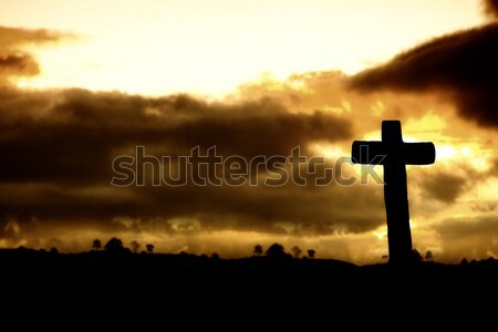 cross Stock photo © zittto